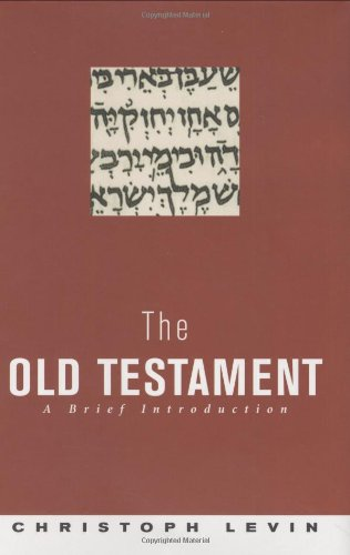 9780691113944: The Old Testament: A Brief Introduction