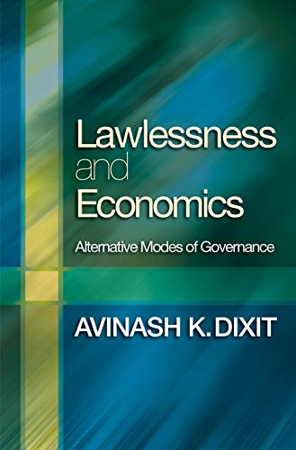 9780691114866: Lawlessness and Economics: Alternative Modes of Governance