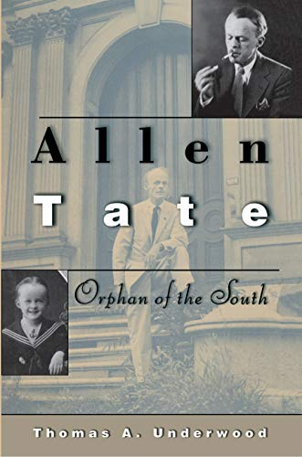 9780691115689: Allen Tate: Orphan of the South