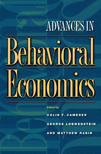 9780691116822: Advances in Behavioral Economics
