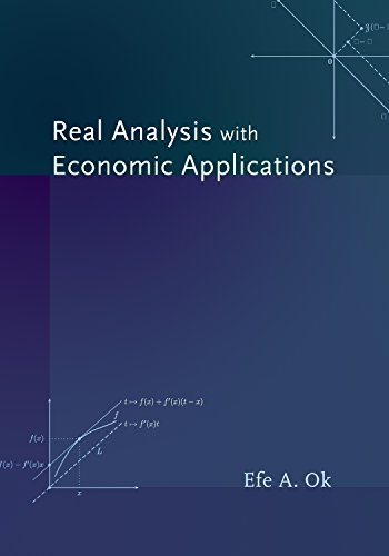 9780691117683: Real Analysis with Economic Applications