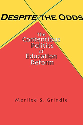 9780691117997: Despite the Odds: The Contentious Politics of Education Reform