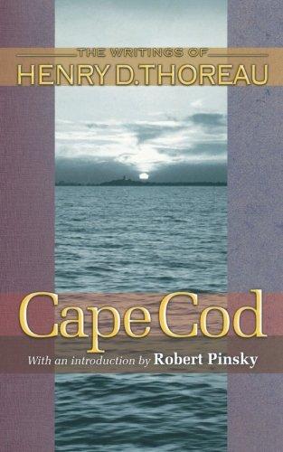 9780691118420: Cape Cod (Writings of Henry D. Thoreau)