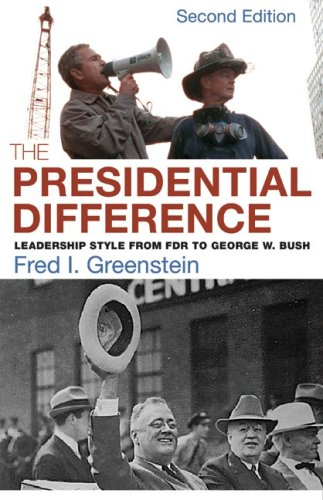 9780691119090: The Presidential Difference: Leadership Style from FDR to George W. Bush