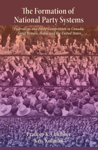 9780691119311: The Formation of National Party Systems: Federalism and Party Competition in Canada, Great Britain, India, and the United States