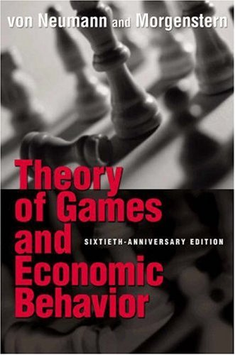 9780691119939: Theory of Games and Economic Behavior