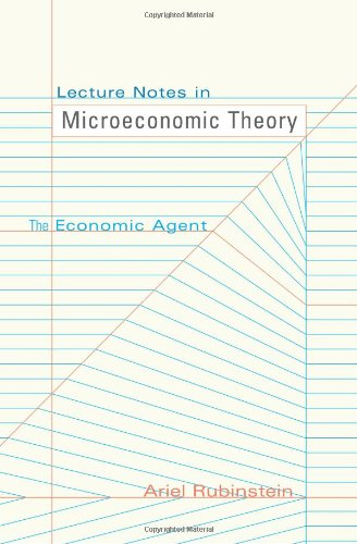 9780691120317: Lecture Notes in Microeconomic Theory: The Economic Agent