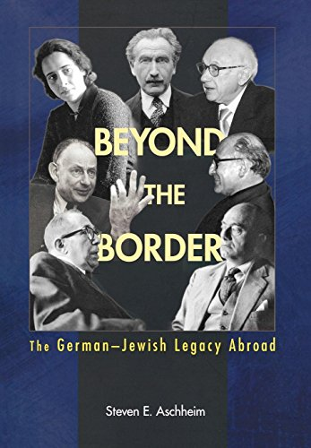 9780691122236: Beyond the Border: The German-Jewish Legacy Abroad