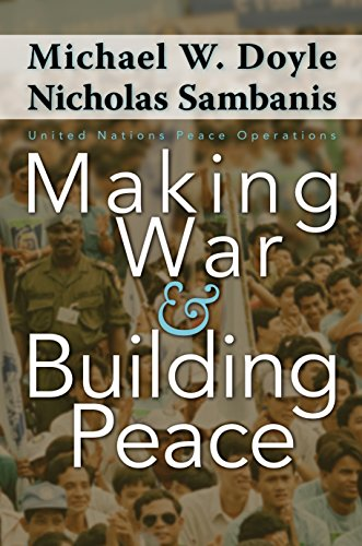 9780691122748: Making War and Building Peace: United Nations Peace Operations