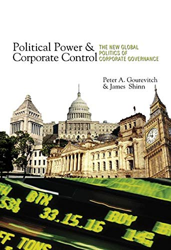 9780691122915: Political Power and Corporate Control: The New Global Politics of Corporate Governance