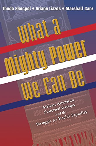 9780691122991: What a Mighty Power We Can Be: African American Fraternal Groups and the Struggle for Racial Equality (Princeton Studies in American Politics: Historical, International, and Comparative Perspectives)