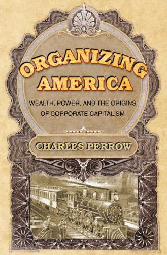 9780691123158: Organizing America: Wealth, Power, and the Origins of Corporate Capitalism