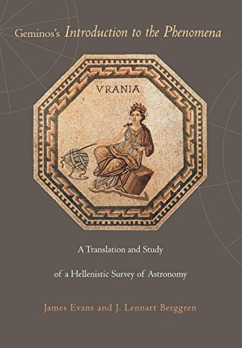 9780691123394: Geminos's Introduction to the Phenomena: A Translation and Study of a Hellenistic Survey of Astronomy