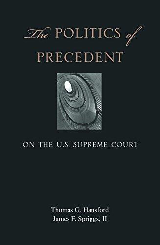 9780691123547: The Politics of Precedent on the U.S. Supreme Court