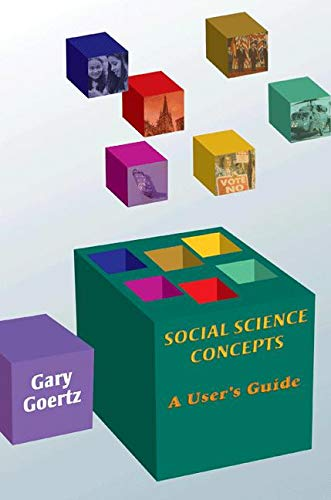 9780691124100: Social Science Concepts: A User's Guide