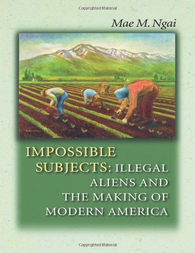 9780691124292: Impossible Subjects: Illegal Aliens and the Making of Modern America (Politics and Society in Twentieth-Century America)