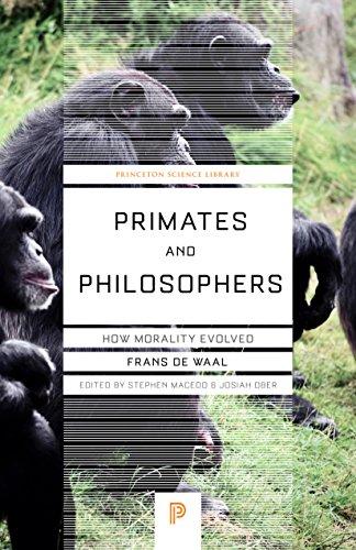 9780691124476: Primates & Philosophers: How Morality Evolved
