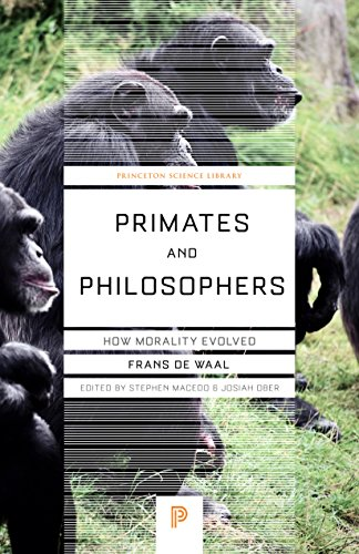 9780691124476: Primates and Philosophers: How Morality Evolved (Princeton Science Library)