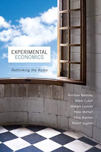 9780691124797: Experimental Economics: Rethinking the Rules