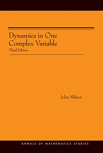 9780691124872: Dynamics in One Complex Variable. (AM-160) (Annals of Mathematics Studies)