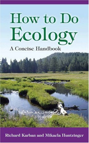 9780691125763: How to Do Ecology: A Concise Handbook
