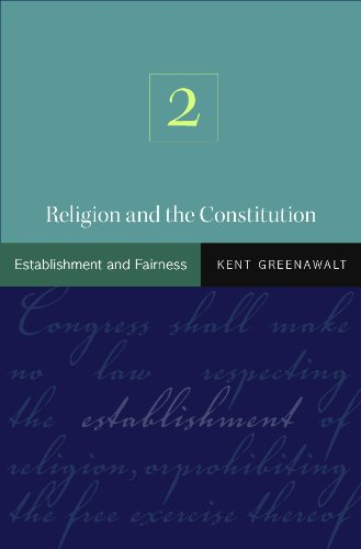 9780691125831: Religion and the Constitution: Volume 2: Establishment and Fairness