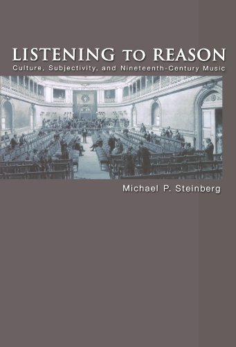 9780691126166: Listening to Reason: Culture, Subjectivity, and Nineteenth-Century Music