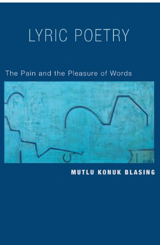 9780691126821: Lyric Poetry: The Pain and the Pleasure of Words