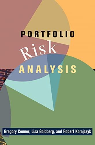 9780691128283: Portfolio Risk Analysis
