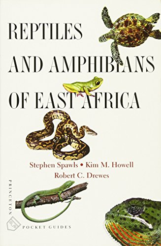 9780691128849: Reptiles and Amphibians of East Africa (Princeton Pocket Guides)