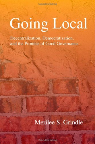 9780691129075: Going Local: Decentralization, Democratization, And The Promise of Good Governance