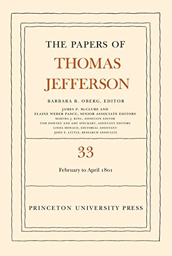 9780691129105: The Papers of Thomas Jefferson, Volume 33: 17 February to 30 April 1801