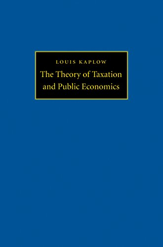 9780691130774: The Theory of Taxation and Public Economics
