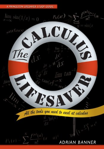 9780691130880: The Calculus Lifesaver: All the Tools You Need to Excel at Calculus (Princeton Lifesaver Study Guides)