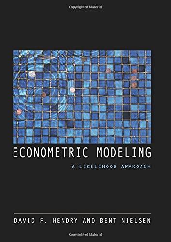 9780691130897: Econometric Modeling: A Likelihood Approach