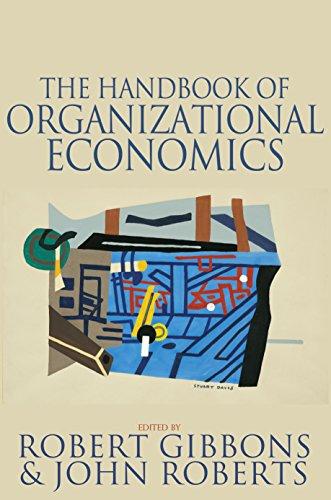 9780691132792: The Handbook of Organizational Economics