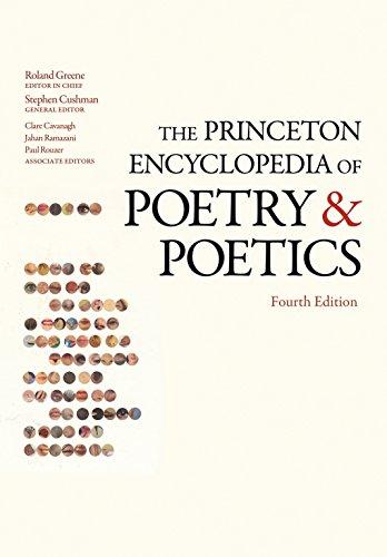 9780691133348: The Princeton Encyclopedia of Poetry and Poetics (Princeton Reference)