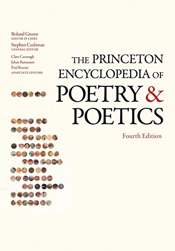 9780691133348: The Princeton Encyclopedia of Poetry and Poetics (Princeton Reference)