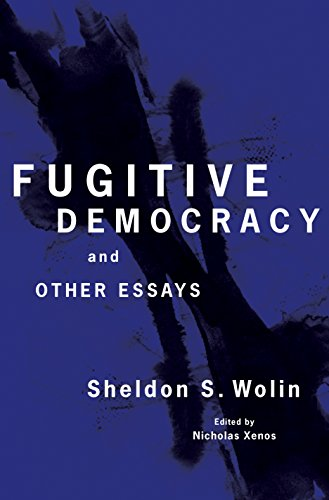 9780691133645: Fugitive Democracy: And Other Essays