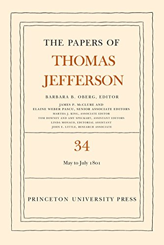 9780691135571: The Papers of Thomas Jefferson, Volume 34: 1 May to 31 July 1801
