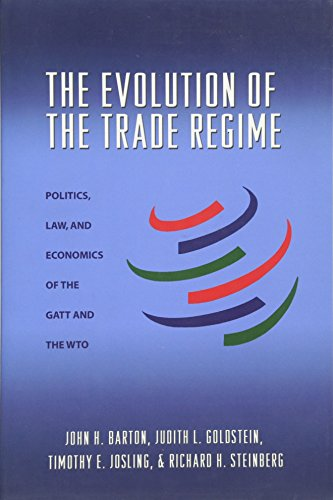 9780691136165: The Evolution of the Trade Regime: Politics, Law, and Economics of the GATT and the WTO