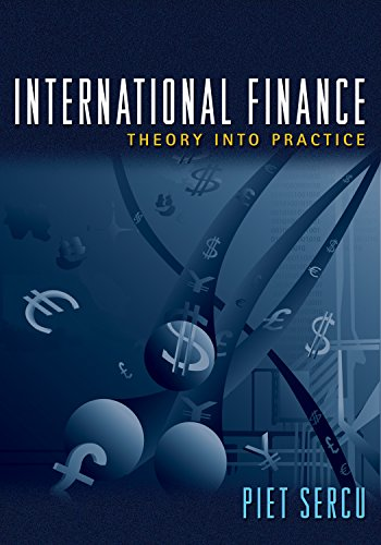 9780691136677: International Finance - Theory into Practice.