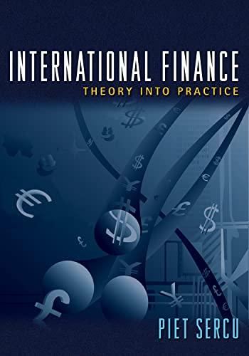 9780691136677: International Finance - Theory into Practice