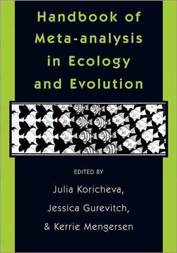9780691137285: Handbook of Meta-Analysis in Ecology and Evolution