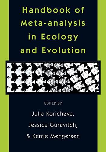 9780691137285: Handbook of Meta-analysis in Ecology and Evolution