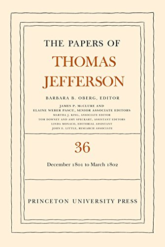 The Papers of Thomas Jefferson Volume 36: 1 December 1801 to 3 March 1802 (Hardcover)