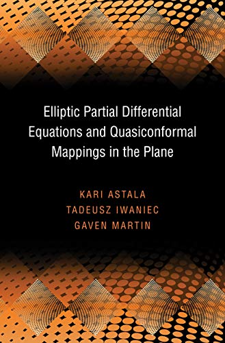 9780691137773: Elliptic Partial Differential Equations and Quasiconformal Mappings in the Plane (PMS-48) (Princeton Mathematical Series)