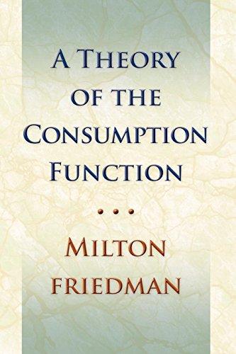 9780691138862: Theory of the Consumption Function (National Bureau of Economic Research)