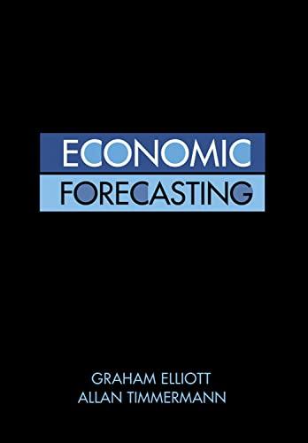 Economic Forecasting: Graham Elliott