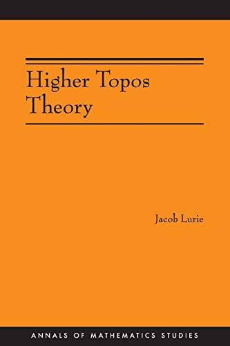9780691140490: Higher Topos Theory (AM-170) (Annals of Mathematics Studies)